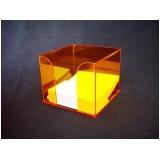brinde de cubo em acrílico Morumbi
