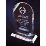 fábrica de troféus de acrílico personalizado Diadema