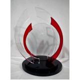 troféu em acrílico para personalizar preço Sacomã