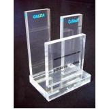 troféu em acrílico transparente preço Sacomã