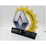 troféus de acrílico para eventos sob medida Morumbi