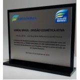 troféus personalizados de acrílico no Itaim Bibi