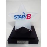venda de troféu de acrílico para eventos sob medida Parelheiros