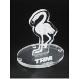 venda de troféu personalizado em acrílico Ipiranga