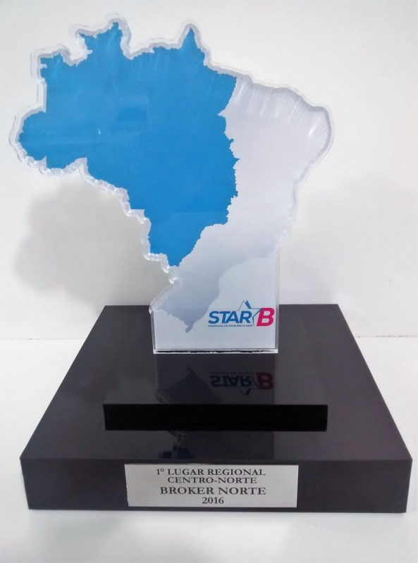 Troféu para Prêmio em Acrílico sob Medida Preço Cidade Jardim - Troféu para Prêmio em Acrílico sob Medida