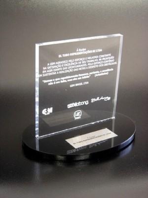 Troféu Personalizado em Acrílico Preço Jardim Paulista - Troféu em Acrílico Transparente