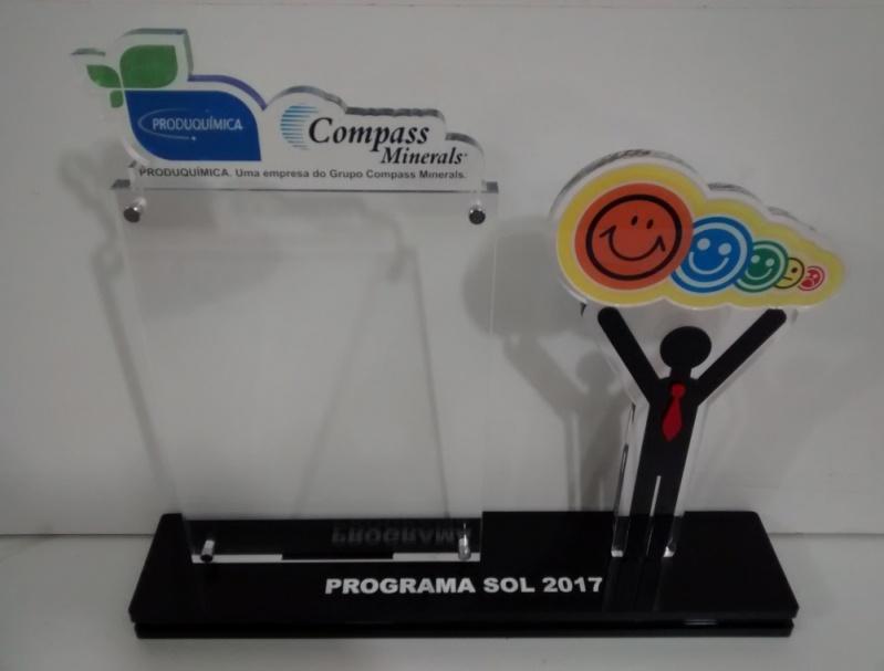 Troféus em Acrílico para Personalizar Campo Belo - Troféu para Eventos Esportivos em Acrílico