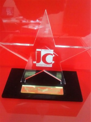 Troféus para Formatura em Acrílico sob Medida Santo André - Fábrica de Troféus de Acrílico Personalizado