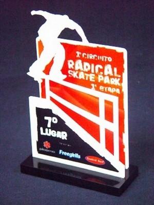 Venda de Troféu para Eventos Esportivos em Acrílico Capão Redondo - Troféu Personalizado em Acrílico