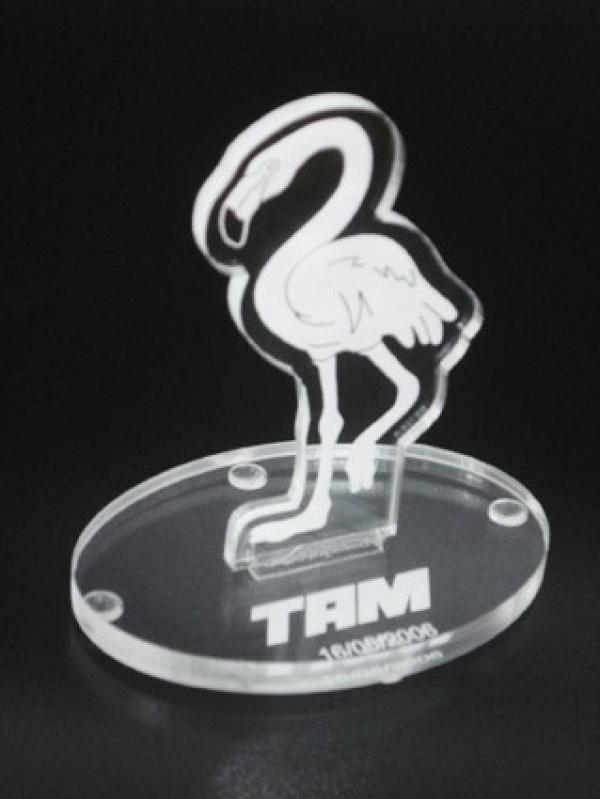 Venda de Troféu Personalizado em Acrílico Parelheiros - Troféu Personalizado em Acrílico